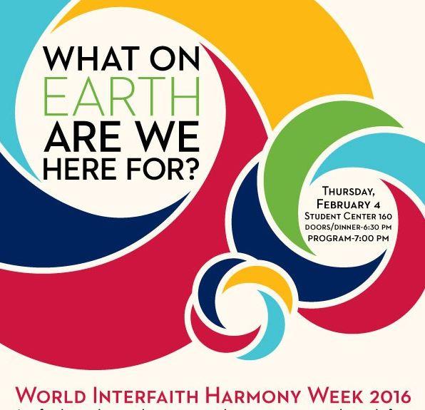 Interfaith Harmony Week, February 2016