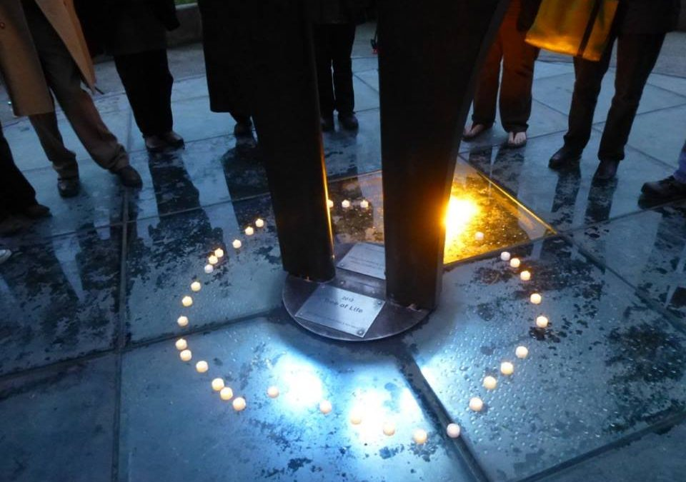 Solstice Vigil for National Homeless Persons' Memorial Day
