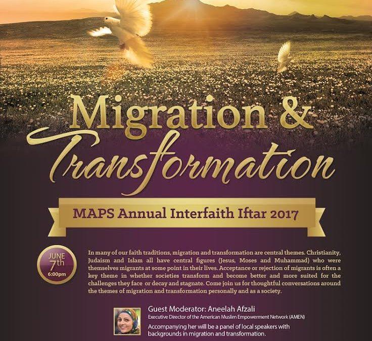 MAPS Annual Interfaith Iftar