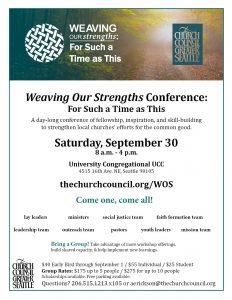 Faith-Based Restorative Practice 101 @ Pentecostal Covenant Church | Seattle | Washington | United States