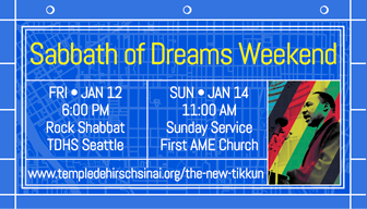 Sabbath of Dreams Weekend – Rock Shabbat