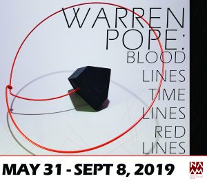 Warren Pope: Blood Lines Time Lines Red Lines @ Northwest African American Museum | Seattle | Washington | United States