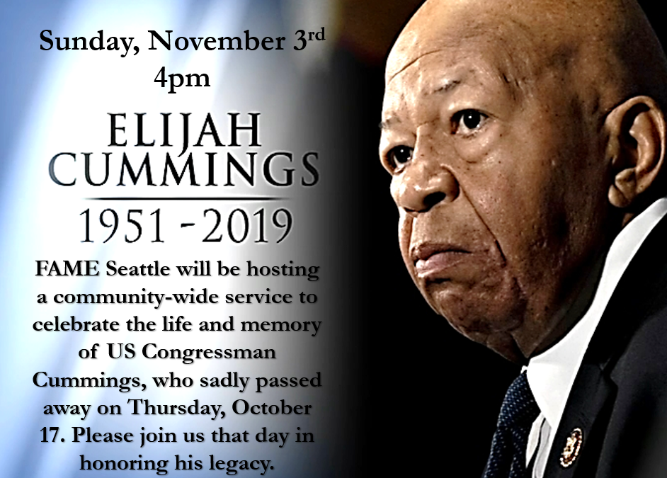 Celebration of the Life of the Hon. Elijah Cummings