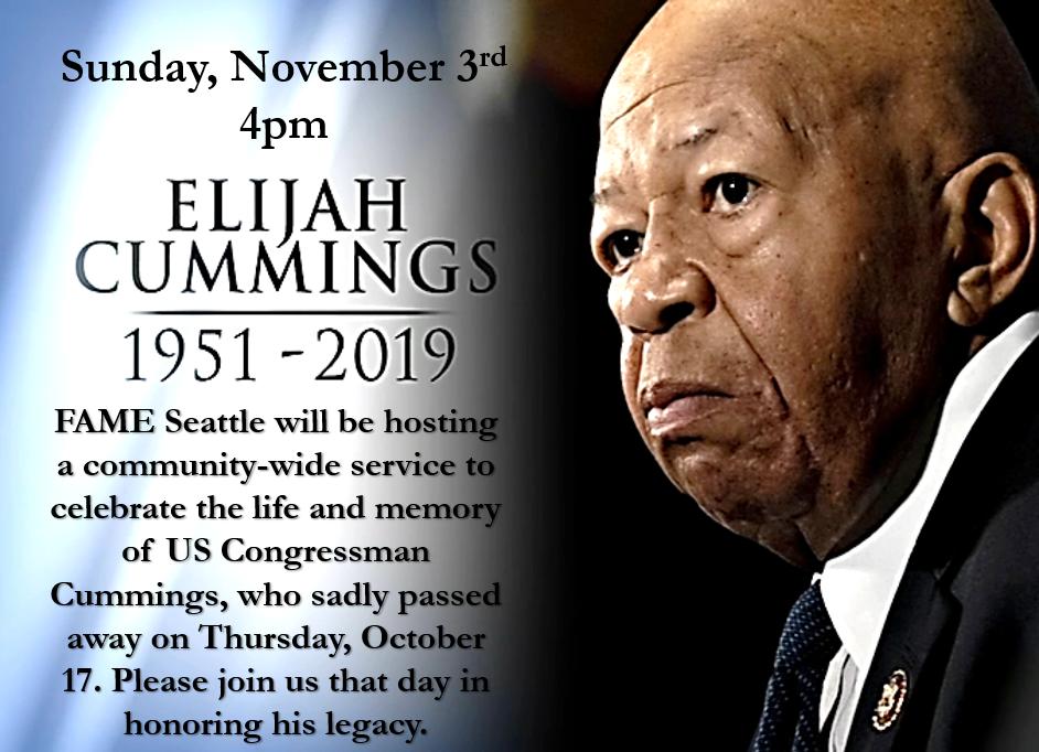 Hon. Elijah Cummings