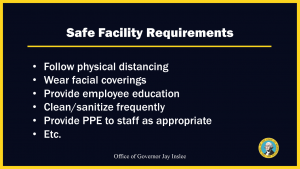 safe facility requirements