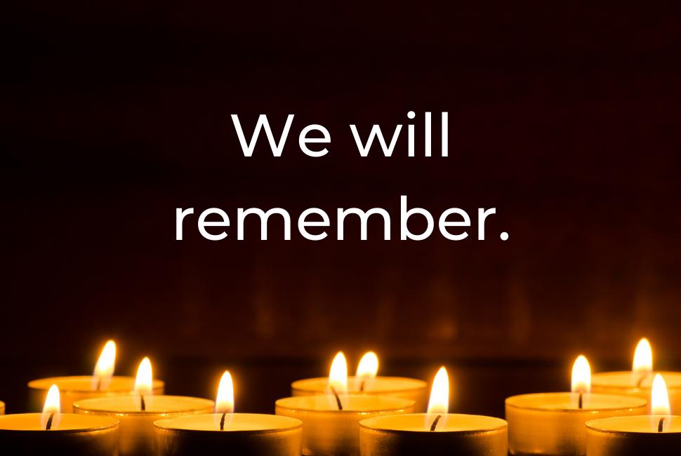 Transgender Day of Remembrance (TDOR)