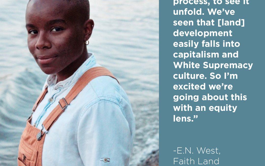 Building a Movement: E.N. West on the power of faith land