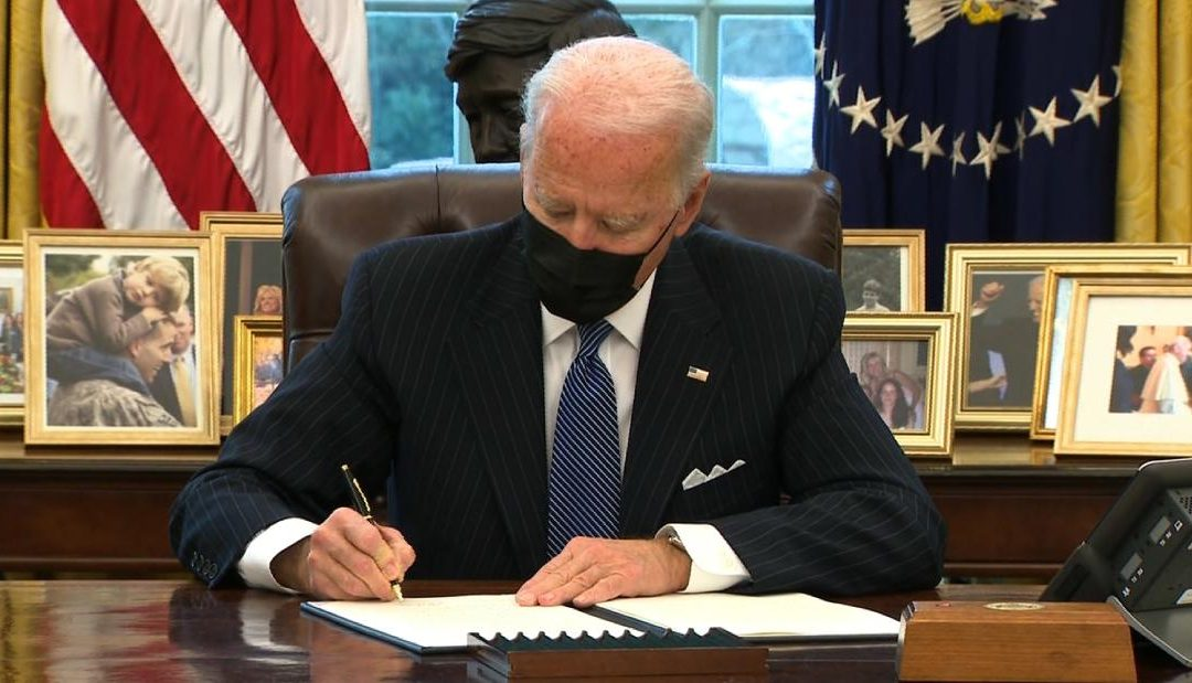 Biden's first Executive Orders on racial justice