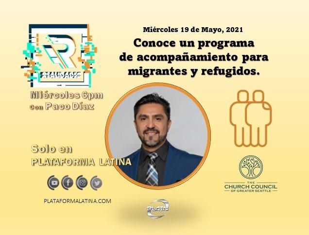 """REALIDADES con Paco Diaz, Invitada Especial Kimberly Dominguez-Barranco: """"Programa de acompañamiento para migrantes y refugidos"""""""